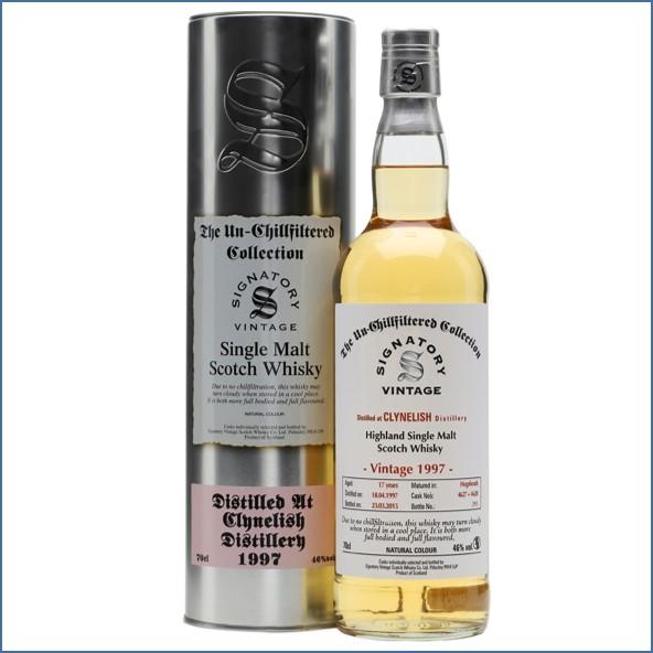 Clynelish 1997 17 Year Old 2015 Cask #4627+28 Signatory Highland Single Malt Scotch Whisky 70cl 46%