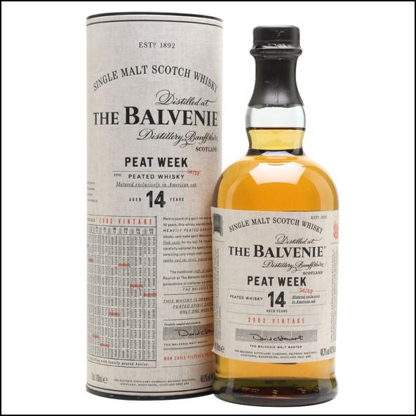 Balvenie 2003 Peat Week 14 Year Old 70cl 48.3%