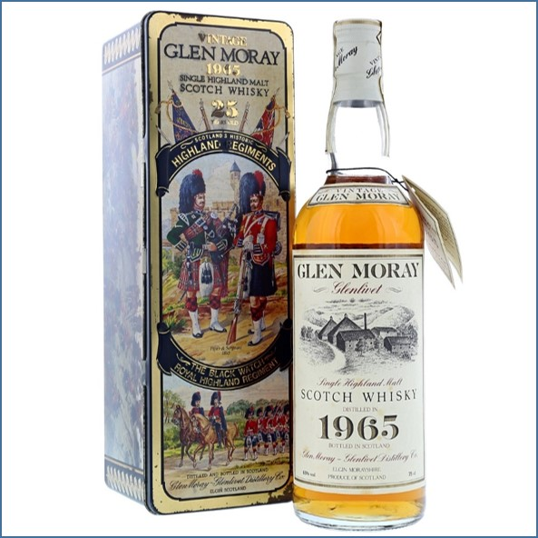 Glen Moray 25 Year 1965 75cl 43%