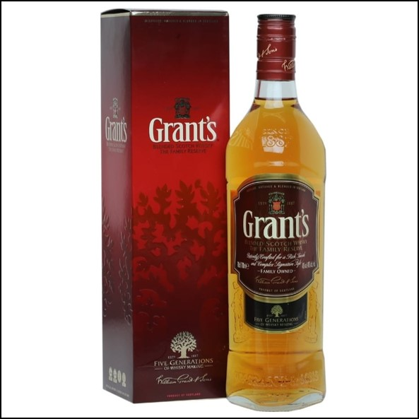 Grant's Family Reserve Blended Scotch Whisky 70cl 40%
