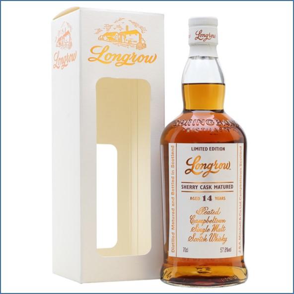 Longrow 14 Year Old Sherrywood Campbeltown Single Malt Scotch Whisky 70cl 57.8%