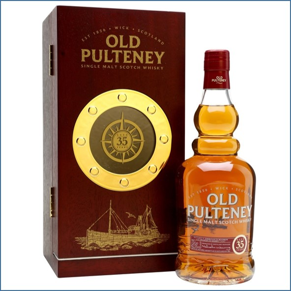 Old Pulteney 35 Year Old  - 2nd Release 70cl 42.5%