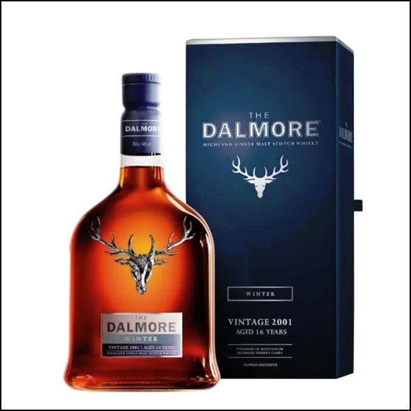 The Dalmore Seasons Collection Taiwan Exclusive – Winter Vintage 2001 (Aged 16 Years)大摩鎏金四季系列收購 2001-冬