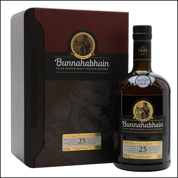 Bunnahabhain 25 Year Old 70cl 46.3%