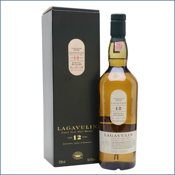LAGAVULIN 12 YEAR OLD Bot.2004 4th Release 70cl 58.2%  收購拉加維林12年  2004