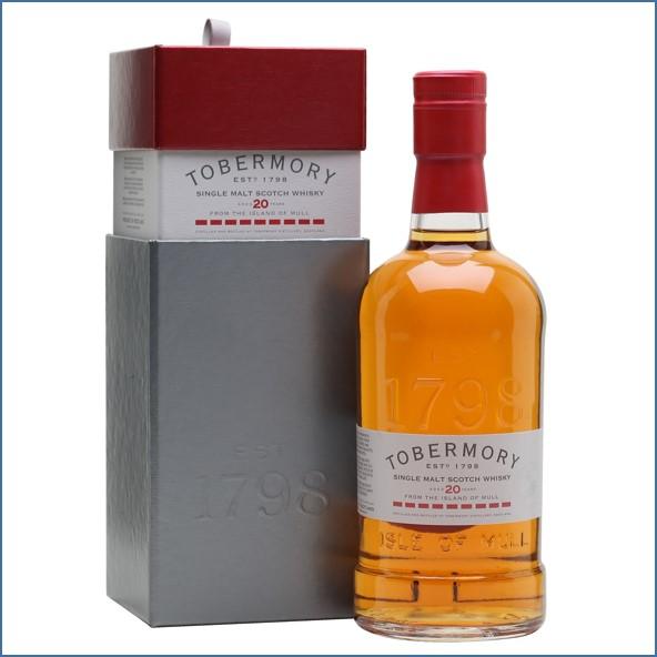 收購托本莫瑞20年  Tobermory 20 Year Old Sherry Cask 70cl 46.3%