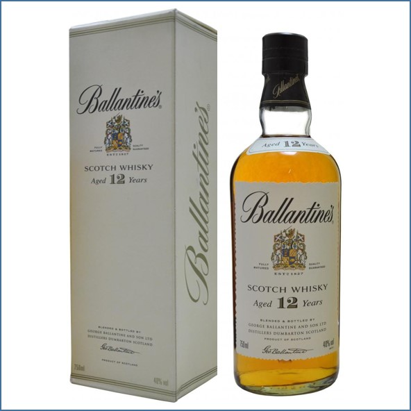 Ballantines 12 Years Old 75cl 40%