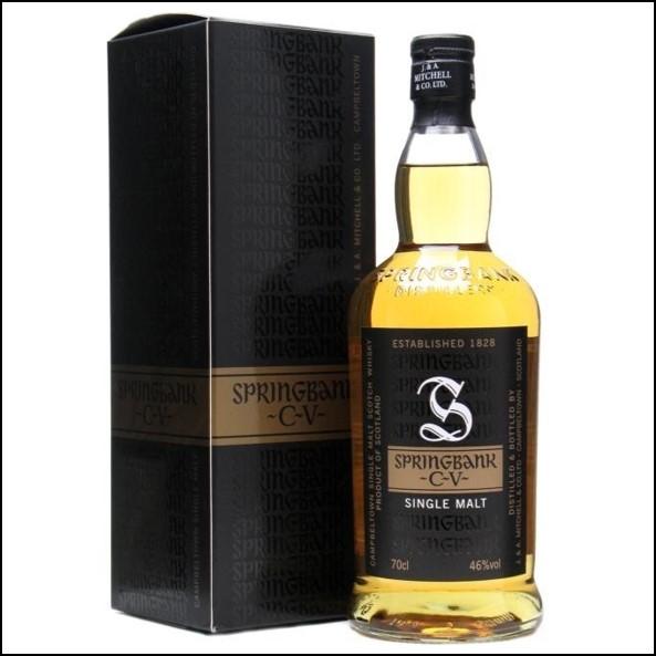 雲頂威士忌收購CV/Springbank CV Campbeltown Single Malt Scotch Whisky 70cl 46%