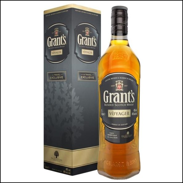 Grant's Voyager Blended Scotch Whisky 100cl 40%