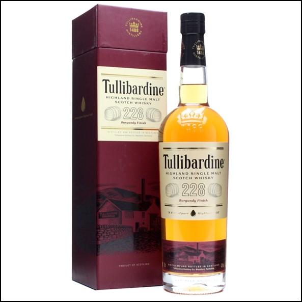 Tullibardine 228 Burgundy Finish 70cl 43%