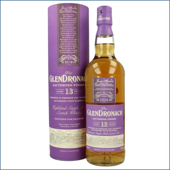 Glendronach 13 Year Old Sauternes 70cl 46%