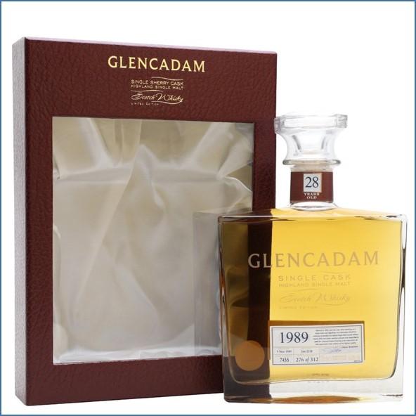 Glencadam 28 Year Old 1989 Cask #7455 70cl 56.8%