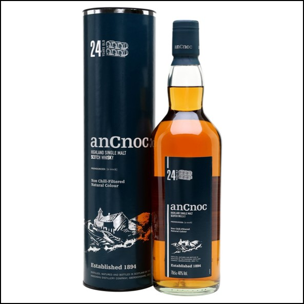 ANCNOC 24 YEAR OLD 70cl 46%
