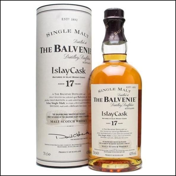 Balvenie 17 Year Old - Islay Cask 70cl 43%