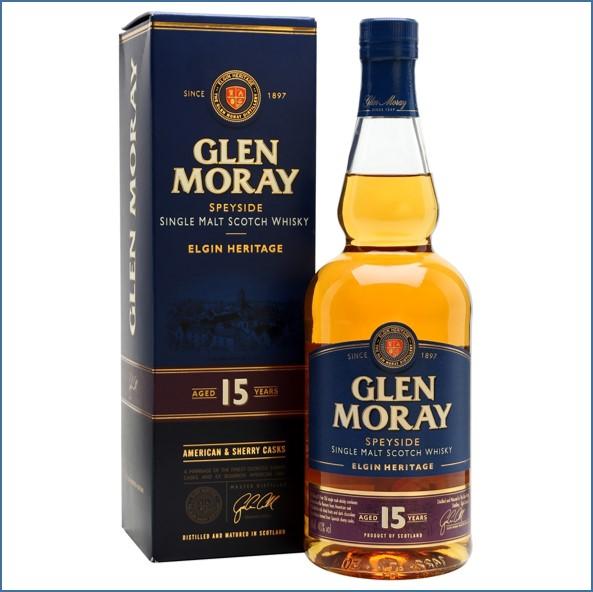 Glen Moray 15 Year Old 70cl 40%
