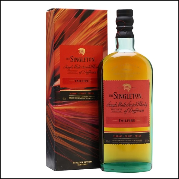 The Singleton of Dufftown Tailfire 70cl 40% 蘇格登 Tailfire收購