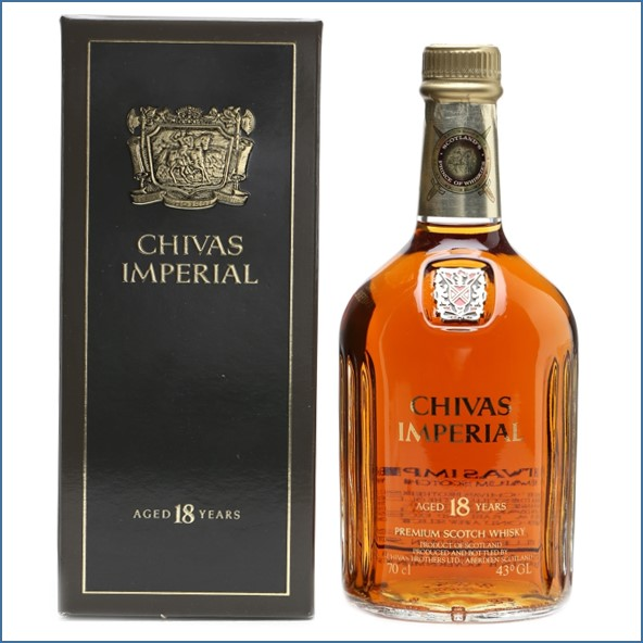 Chivas Imperial 18 Years Old Bottled 1990s 70cl 43%
