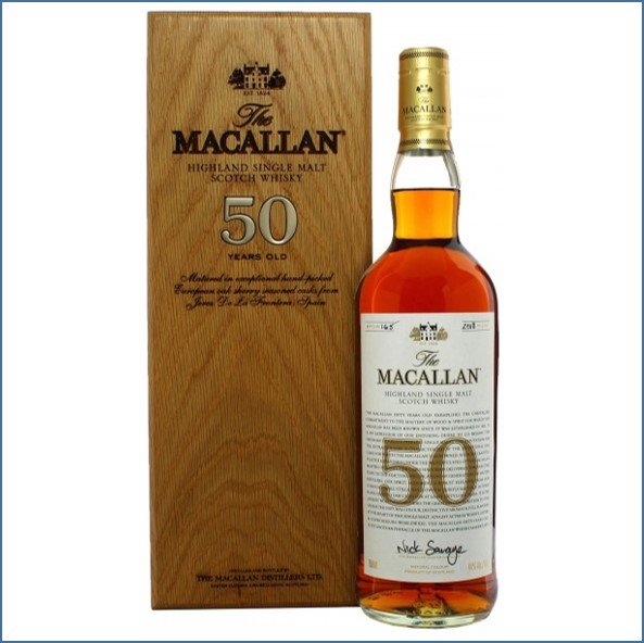 Macallan 50 Year Old 2018 70cl 44%