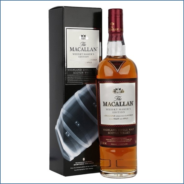 Macallan Whisky Maker's Edition - X-Ray 4 - Exceptional Oak Casks
