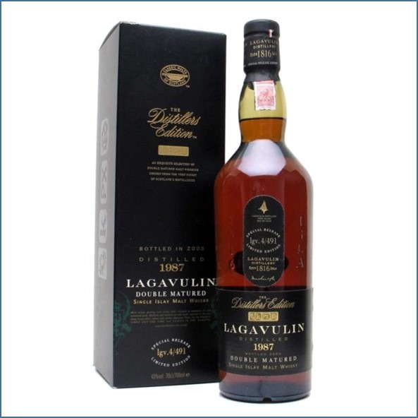 LAGAVULIN 1987 DISTILLERS EDITION Bot.2003 70cl 43% 拉加維林 收購 1987-2003 雙桶