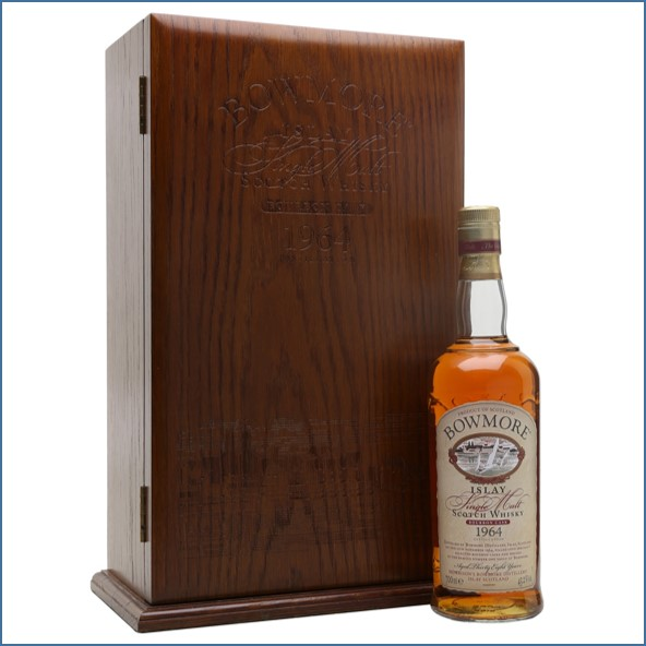 Bowmore 38 Years Old 1964 Bourbon Cask 70cl 43.2%