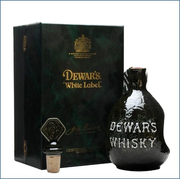 Dewar's White Label Centennial Flagon (1986) Blended Scotch Whisky 75cl 43.4%
