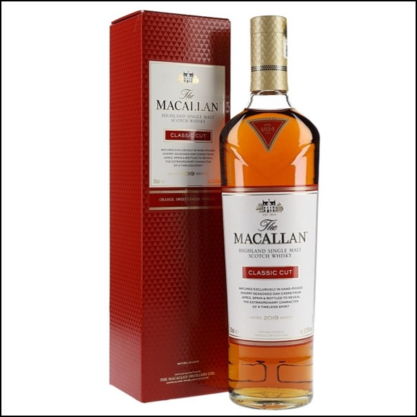 收購麥卡倫 The Macallan Classic Cut Limited Edition 2019  70CL 52.9%