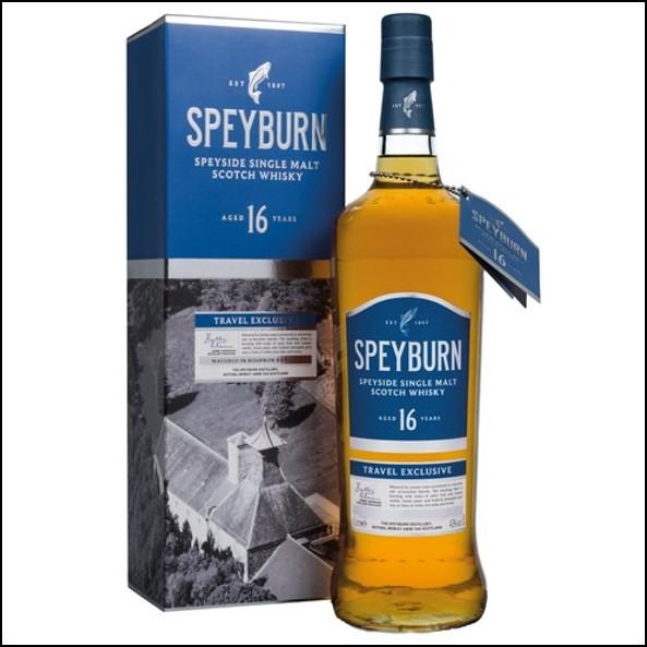 Speyburn 16 Year Old Speyside Single Malt Scotch Whisky 43%