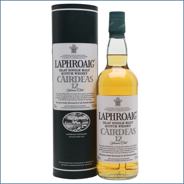 Laphroaig 12 Year Old Cairdeas 70cl 57.5%