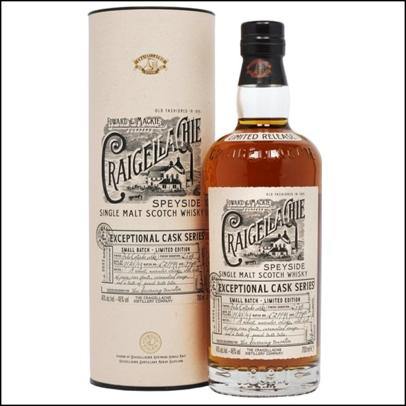 Craigellachie 17 Year Old  Exceptional Cask Series 70cl 46%