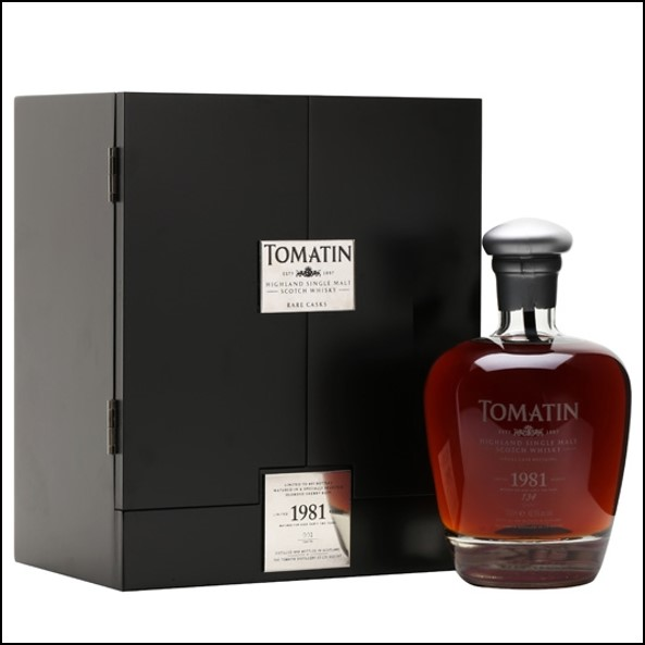 Tomatin 1981 32 Year Old Sherry Cask #001 70cl 42.3%