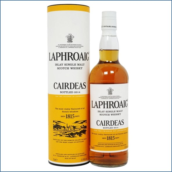 拉佛格收購 Laphroaig Cairdeas 2014 Amontillado Finish - Fèis Ìle 70cl 51.4%