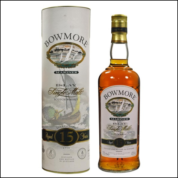 Bowmore 15 years Mariner 75cl 43% Old Bottling