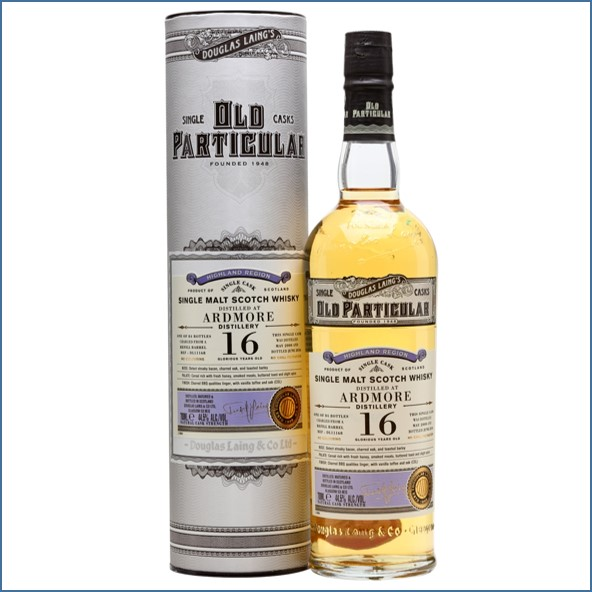 Ardmore 16 Year Old 2000 Old Particular Douglas Laing 70cl 44.5%