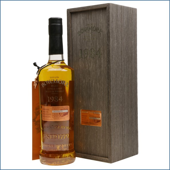 Bowmore 28 Year Old 1984 No.1 Vaults  bourbon cask 70cl 48.7%
