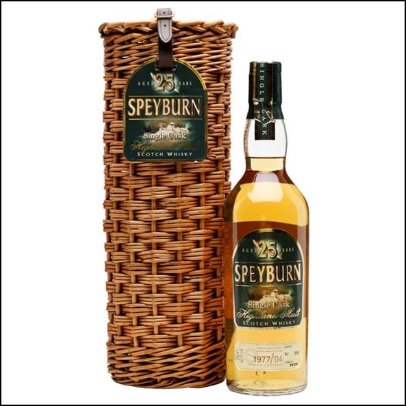Speyburn 1977 25 Year Old Speyside Single Malt Scotch Whisky 70cl 63.5%