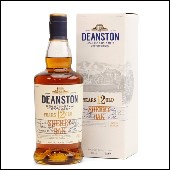 Deanston 12 Years Old - Sherry Oak Taiwanese Exclusive