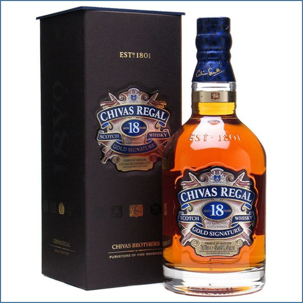 Chivas Regal 18 Year Old Blended Scotch Whisky 70cl 40%