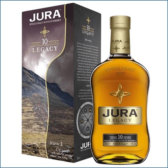 Isle of Jura 10 Year Old Legacy  70cl 40%
