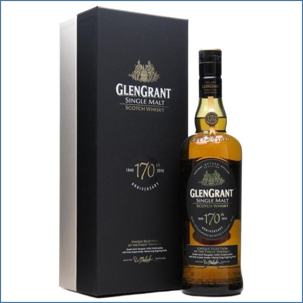 Glen Grant 170th Anniversary Speyside Single Malt Scotch Whisky 70cl 46%