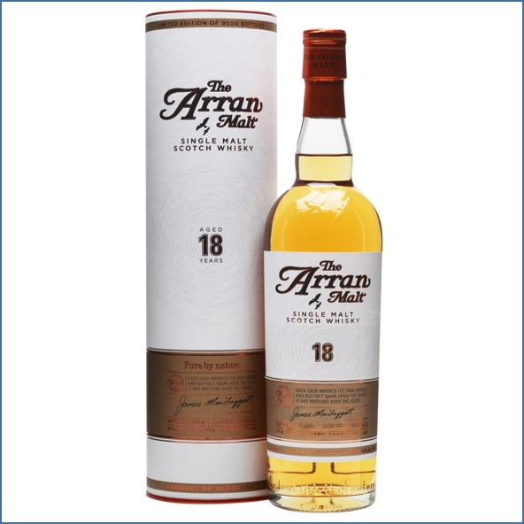 Arran 18 Year Old First Release 70cl 46%