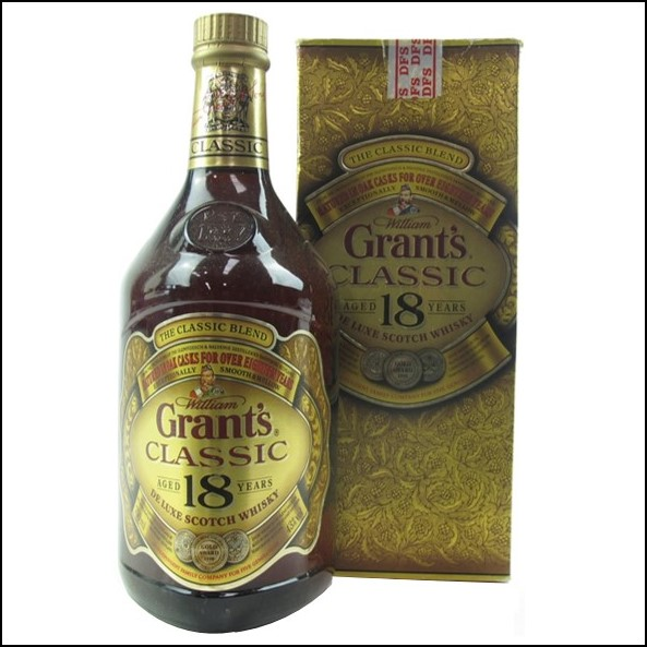 Grant's 18 Year Old Classic Reserve 75cl 43%