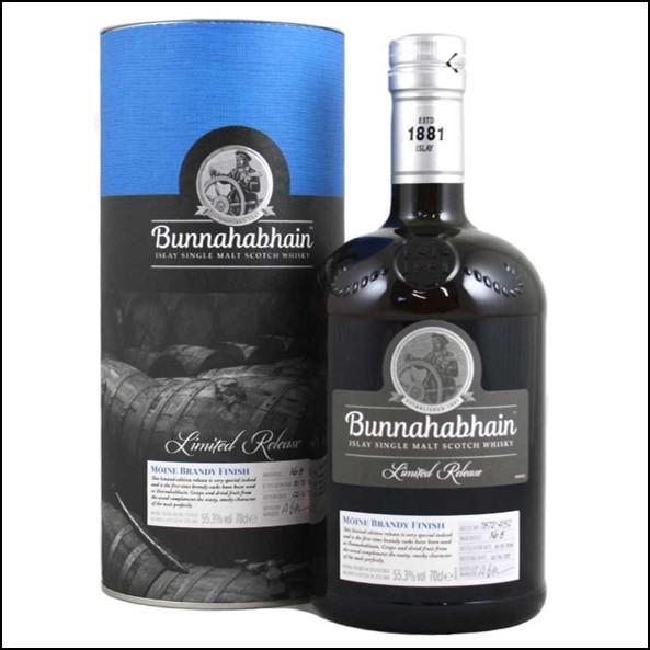 Bunnahabhain Mòine 2004 Brandy Finish 70cl 55.3%