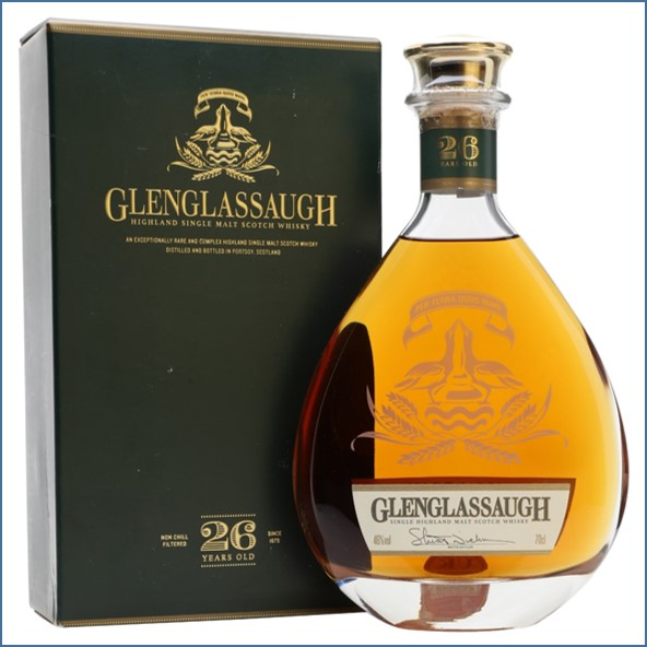 Glenglassaugh 26 Year Old Highland Single Malt Scotch Whisky 70cl 46%