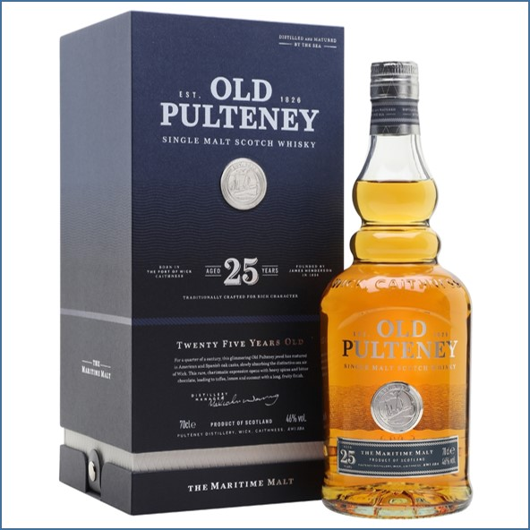 Old Pulteney 25 Year Old 2019 Release 70cl 46%