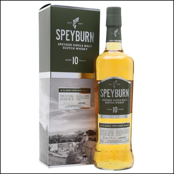 Speyburn 10 Year Old Speyside Single Malt Scotch Whisky 70cl 40%