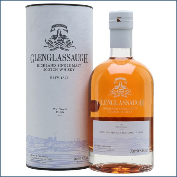 Glenglassaugh Port Wood Finish Highland Single Malt Scotch Whisky 70cl 46%