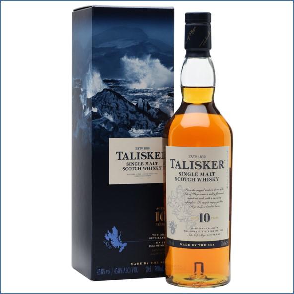 Talisker 10 Year Old 70cl 45.8%