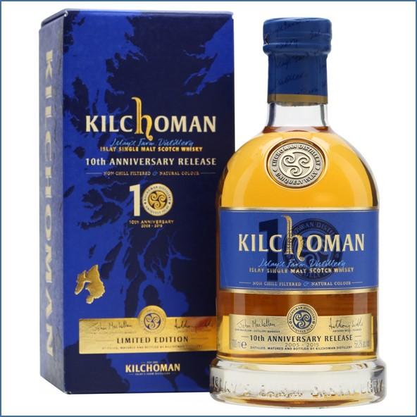 Kilchoman 2015 10 Year Old 10th Anniversary 2005 70cl 58.2%