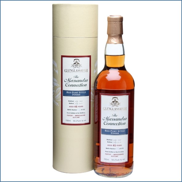 Glenglassaugh 1967 45 Year Old Massandra Connection Red Port Finish 70cl 50.2%